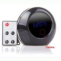 V8 Mirror Alarm Clock Hidden Cam DV DVR Video Recorder Camcorder With Remote Control & Motion Detection 1280*960