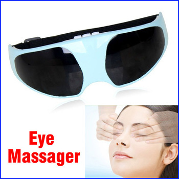Wholesale 50pcs Eye Massager Anti-myopia Eye Nurses Electric  Acupuncture Magnetic Eye Care Massager EMS Free Shipping
