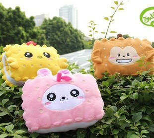 Cartoon cookies usb multifunctional pillow bamboo charcoal bag hand warmer(China (Mainland))