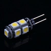 10 pcs G4 Home Reading Light 1.8W 145-Lumen 3500K 9 SMD 5050 LED Light Warm White Bulb Lamp DC 12V