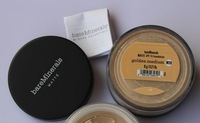 Free China Post Air Mail New Loose Powder(W20) Foundation 8g id bare Minerals Escentuals golden medium