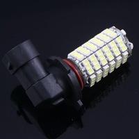 2pcs HB4 9006 3528 SMD 120 Car LED White Fog Head Light Lamp Bulb DC 12V, Free Shipping