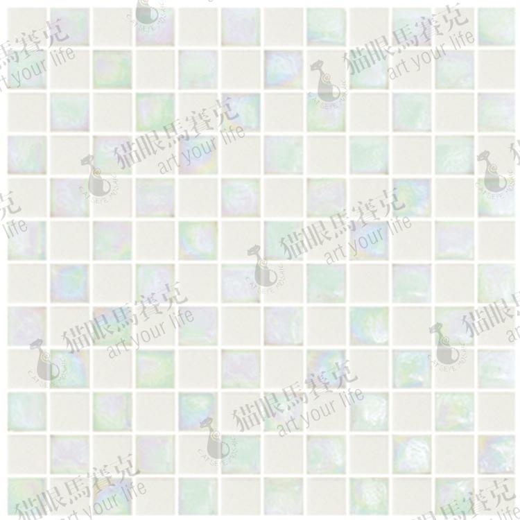 Atacado e reatails vidro Rr0303 mosaico de cerâmica rosa branca(China (Mainland))