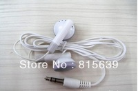 Free shipping fedex Cheapest New Earphone earphone for ipod MP3 MP4 Player 2000pcs/lot 3.5mm In-Ear Headphone