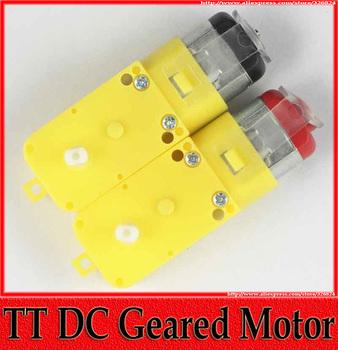 2 Kinds of Micro DC Geared Motor 3V - 6V 4.5KG.CM TT Motor Robot Smart Car Electrical Motors 5pcs