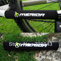 2pcs X New Black Cycling Bike Bicycle Chain Stay Protector Nylon Pad Free shipping
