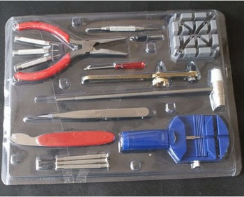16-Piece Deluxe Watch Repair Tool Kit With Watchband Link Pin Remover, and More!  Free Shipping