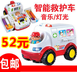 Department of music 836 almighty ambulance music equipment educational toys(China (Mainland))