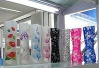 Vase folding vase plastic vases pvc vase fashion vase pattern