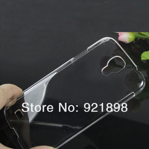 Drop Shipping lot 10 Crystal Clear Transparent Ultra Thin Hard Case Cover For Samsung Galaxy S4 i9500 DC1210 New Free Shipping(China (Mainland))