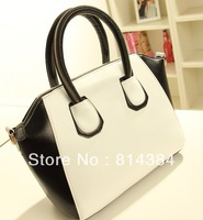2013 New Style Neon Contrast Color Fashion Lady Handbag Tote Bag Color Block Style Trendy Casual Bag SB00005