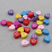 Jonadab dot love blockwood 5 b5 blockwood accessories 1.3cm  1oopcs