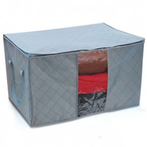 Thickening bamboo charcoal quilt storage bag storage box storage box storage(China (Mainland))