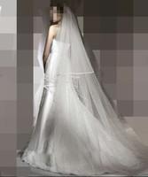 3 meters top design long bride wedding veil train wedding dress veil