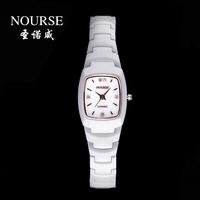 Nova commercial side plate male quartz waterproof ceramic watchband watch diamond table lovers watch