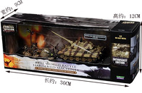 free shipping ! FOV 1:72 WWII German Tiger I tanks and soldiers fighting scene model