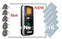 Standalone Biometric Fingerprint Reader for Access Control with Door Relay X660+5pcs keyfob+5pcs ID Card