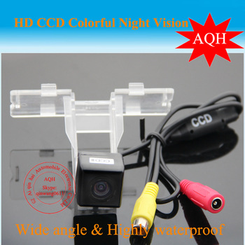 Free Shipping CCD Reverse camera auto car Rear View Camera car cmera license plate light camera for Suzuki Swift 2011