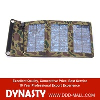 5V 5W Camouflage packaging solar panel power bank for outdoor