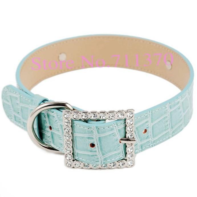 """Free Shipping Wholesale 10PCS Blue """"XS"""" Croc Dog Cat Pet Personalized Pet Collar,Dog Collar ,Cat Collar ,Pet Collar(China (Mainland))"""