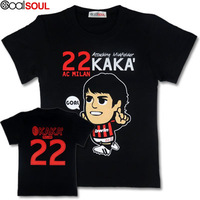 Kaka cartoons cartoon short-sleeve football t-shirt footeer-s00008