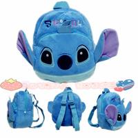 Stitch child school bag 40.77% cartoon decompression double-shoulder school bag back