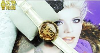 Free Shipping 10PCS/LOT Wholesale Trendy Leather Watchband Quartz Fashion Lady's Watch Sexy Cat Women's Wristwatches