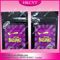 Hottest !!! 1.5 g Bizarro Herbal Incense Potpourri Bags With Zipper Top/Zenbio By bizarro herbalincense potpourri bags