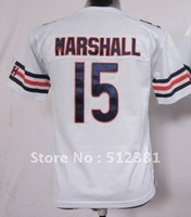 Free shipping!! 2012 new style #15 Brandon Marshall youth kids jersey white