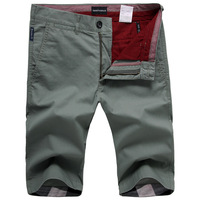 Fashion 2013 men's clothing short trousers male 100% cotton fashion casual slim capris