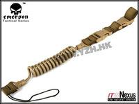 EMERSON elastic short gun sling airsoft painball Coyote brown