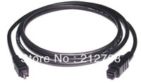 FW-019-1.8M 9 Pin to 4 Pin Beta Firewire 800 Firewire 400 9 4 Cable IEEE 1394B 1.8M Black