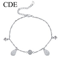 CDE 2013 Leg Jewelry Bangle DIY Foot Jewelry Zircon Chain Anklets Austrian Crystal B0148