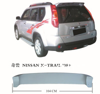 ABS spoiler car spoiler car rear spoiler for 2008 X-TRAIL