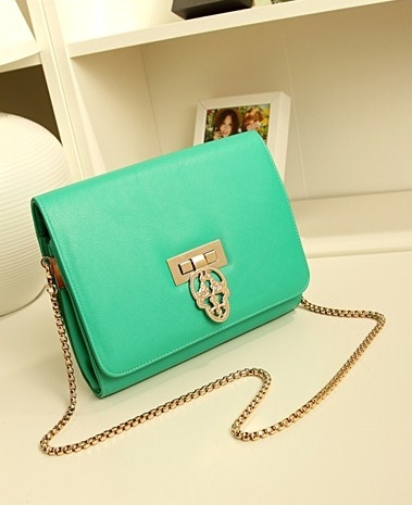 Bags 2013 women's handbag female messenger bag female shoulder bag backpack day clutch chain bag(China (Mainland))