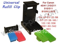 New Universal refill tool for HP 21 22 27 28 60 102 901 336 342& For Canon PG210 510 810 CL211 511 Ink cartridge  Free shipping