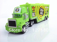 Free Shipping Brand New Pixar Cars 2 Toys SHINY WAX Team #82 Hauler Diecast Car Toy Loose