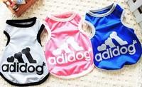 pet dog clothes summer vest teddy/pomeranian/bichon frise summer wear T-shirt puppies puppy clothes