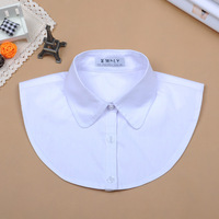 Hot sales 2014 fashion  white false collar shirt peter pan collar shirts sweater collars decoration female free shipping