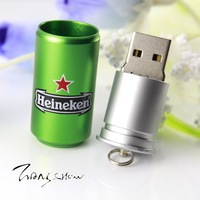 Wholesale new simulation canning usb gifts U disk 64 g / 128 g / 256 g / 512 g usb
