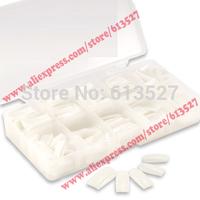 Natural Color Half false Nails tips 500pcs with Box Free Shipping