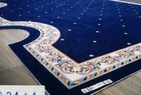Customize carpet wall to wall carpet encryption thickening blue carpet big c88