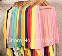 Genuine new sun protection clothing cape sleeve chiffon shirt air-conditioned shirt thin  Women t-shirt free shipping 10 pcs/lot