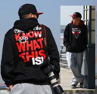 New 2014 Men Bull Hip hop Sports Skateboard hoodes Male Sweatshirt  Plus size Punk sweatshirt Men Hoody Sportswear Fleece