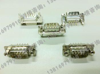 Welding plate vga serial port plug db9 core plug rivet belt fizgig high quality white glue