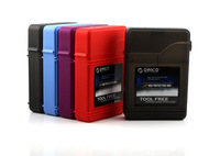 Freeshipping!! 3.5 hard drive protection box 2010 hard drive protection box pp box orico 5 !