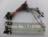2014 Hot Sale Wholesale 3.3v/5v Mb102 Breadboard + Mb-102 830 Points Solderless Prototype Bread Board + 65 Flexible Jumper Wires