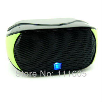 Free Drop Shipping Mini Boombox Lound Speaker Work For Iphone Wireless Bluetooth Speaker Touch Screen Audio Portable Speaker Q5