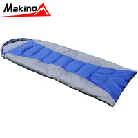 Ma adult sleeping bag spring and autumn field outdoor products cotton thickening ultra-light sleeping bag