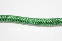 Green Metallic Tubular Crin horsehair 120 yards 3pcs a lot
